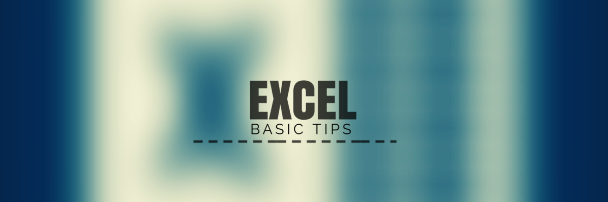 ExcelBasicTips